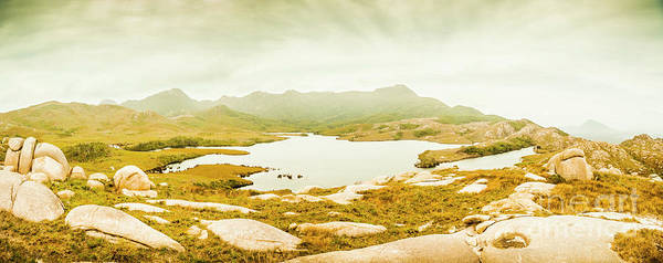 Wall Art - Photograph - Lake Cumberland, Western Tasmania by Jorgo Photography - Wall Art Gallery