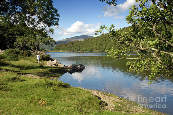Photograph - Lake Cynwch - Snowdonia National Park by Keith Morris