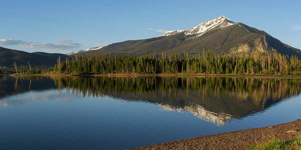 Wall Art - Photograph - Lake Dillon Reflection by Aaron Spong