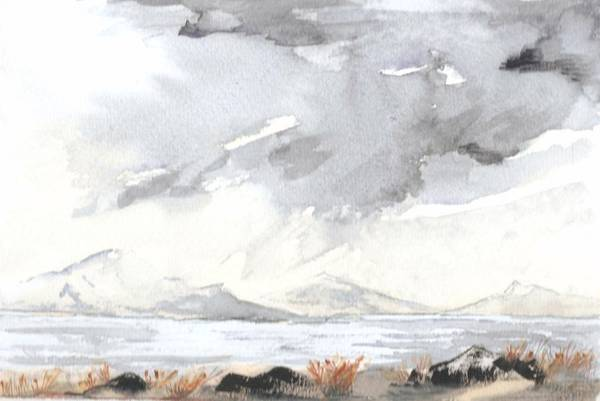 Windermere Painting - Lake District by Jim Green