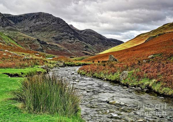 Photograph - Lake District Landscape by Martyn Arnold