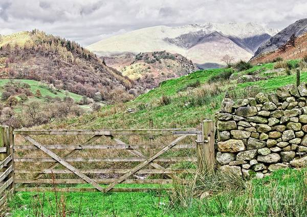 Photograph - Lake District Mountains by Martyn Arnold