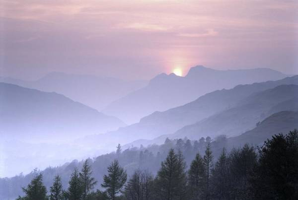Grasmere Wall Art - Photograph - Lake District National Park. Langdale Valley, Winter by David Lyons