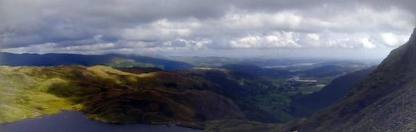 Photograph - Lake District Panoramic by Samuel Pye