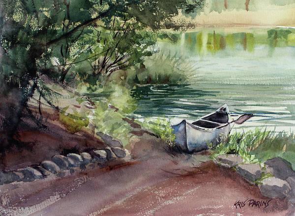 Wall Art - Painting - Lake Dreams by Kris Parins
