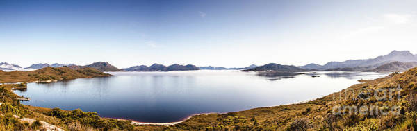 Dam Wall Art - Photograph - Lake Edgar Dam Southwest Tasmania by Jorgo Photography - Wall Art Gallery