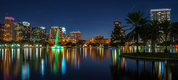 Lake Eola Orlando Art Print