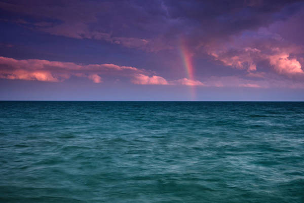 Wall Art - Photograph - Lake Erie Rainbow by Cale Best