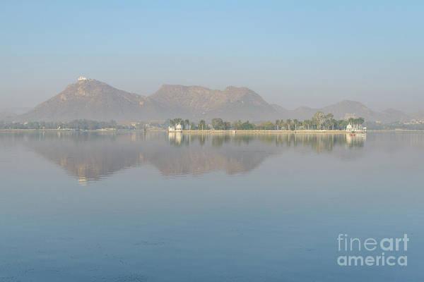 Photograph - Lake Fateh Sagar 01 by Werner Padarin