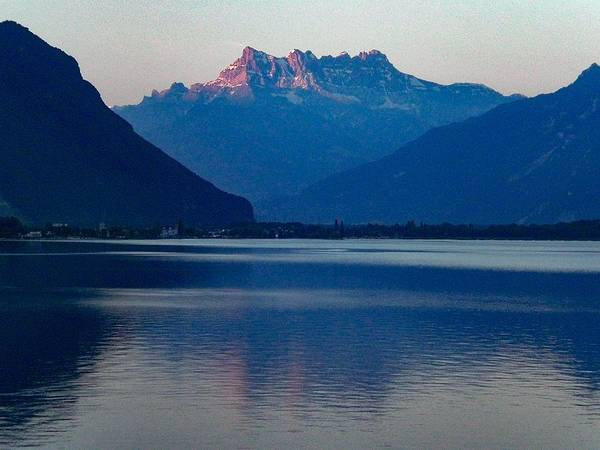 Photograph - Lake Geneva, Switzerland by Samuel Pye