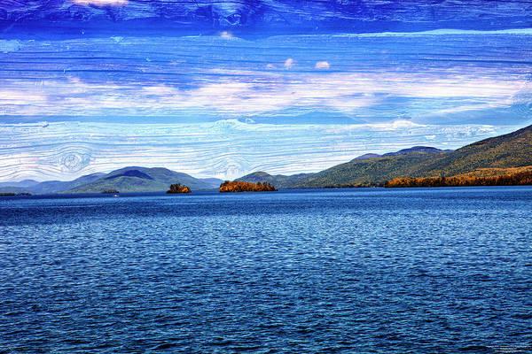 Adirondack Mountains Digital Art - Lake George by Christopher Eng-Wong