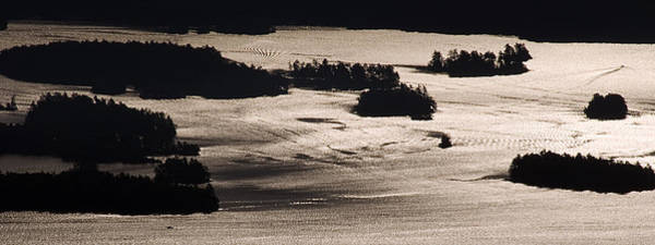Bolton Landing Wall Art - Photograph - Lake George Islands From Cat Mountain by Tony Beaver