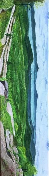 Adirondack Mountains Painting - Lake George by Jessie Kirker