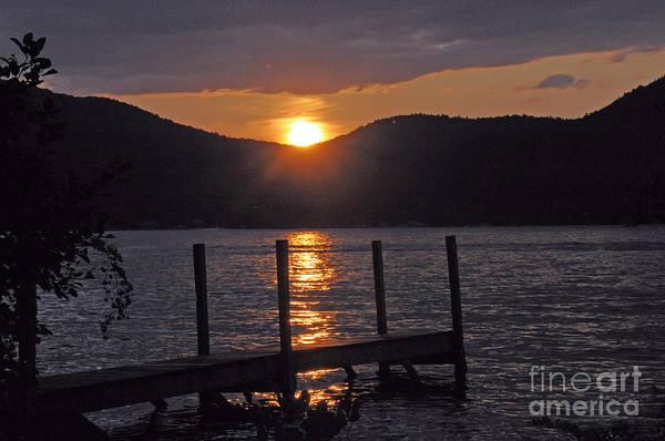 Lake George New York Sunset Art Print