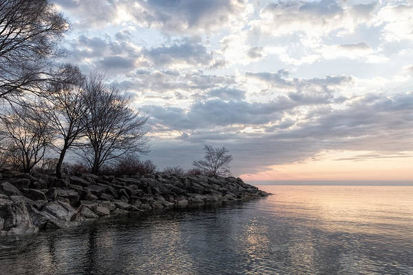 Promontory Point Photograph - Lake Peace And Serenity by Georgia Mizuleva