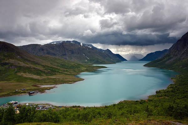 Photograph - Lake Gjende by Aivar Mikko