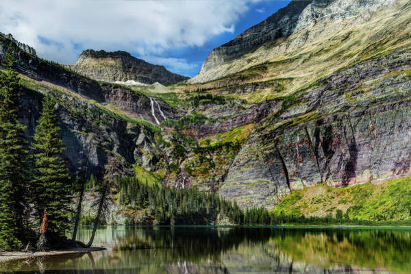 Photograph - Lake Grinnell In Glacier National Park by Kay Brewer