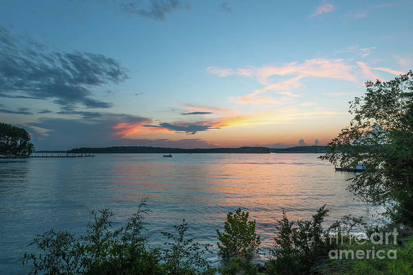 Photograph - Lake Hartwell Sunset Sky by Dale Powell