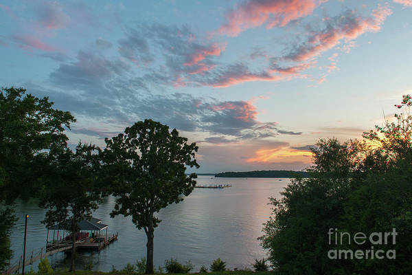 Photograph - Lake Hartwell Sunset Still Waters by Dale Powell