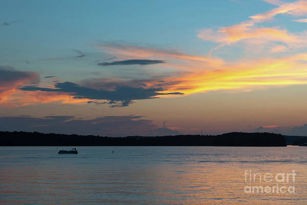 Photograph - Lake Hartwell Sunset Wishes by Dale Powell