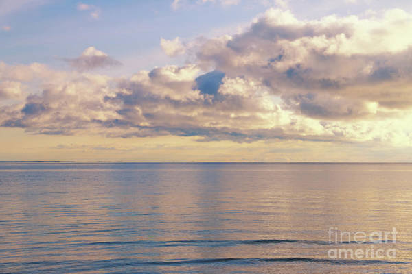Photograph - Lake Huron In Light Gold by Rachel Cohen