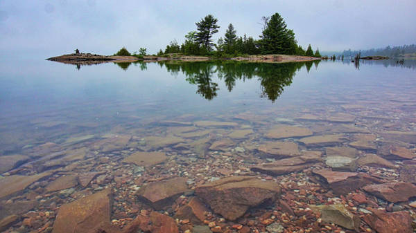 Photograph - Lake Huron Island by Bryan Smith