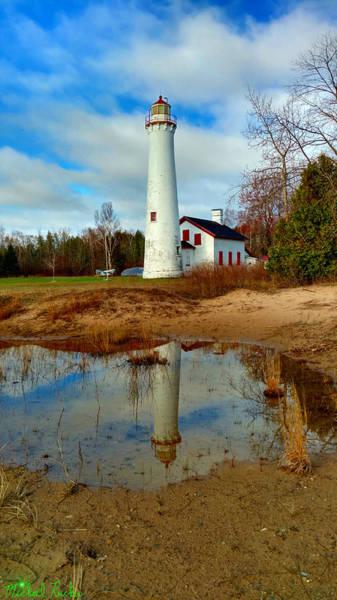 Lighthouse Wall Art - Photograph - Lake Huron Lighthouse by Michael Rucker