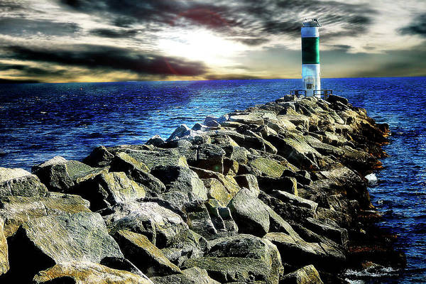 Photograph - Lake Huron Lighthouse by Scott Hovind