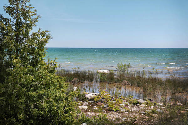 Photograph - Lake Huron, Presque Isle Michigan by Kelly Hazel
