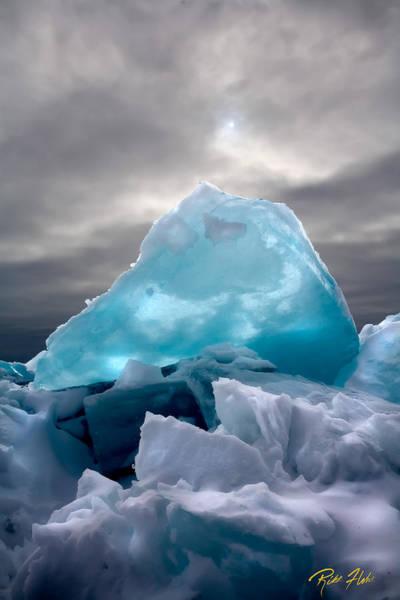 Photograph - Lake Ice Berg by Rikk Flohr