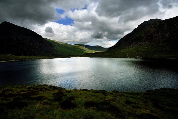Montain Photograph - Lake Idwal by Olivier Blaise