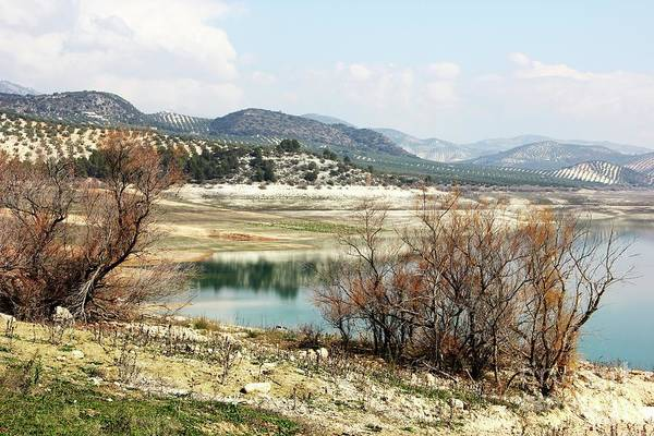 Wall Art - Photograph - Lake Iznajar 1 by Jackie Mestrom