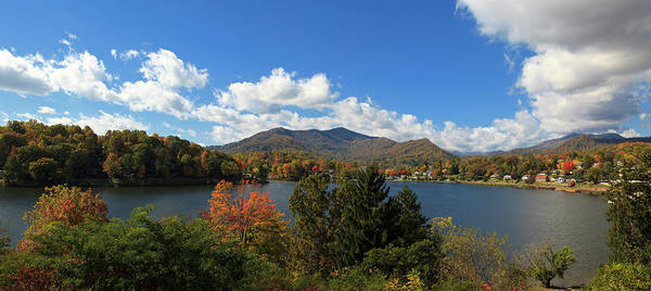 Photograph - Lake Junaluska Panorama by Jill Lang