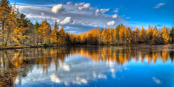 Photograph - Lake Kan-ac-to At Woodcraft Camp by David Patterson