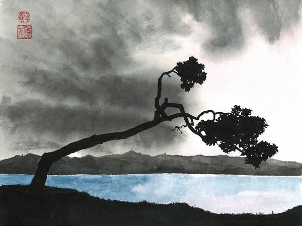 Wall Art - Painting - Lake Kussharo by Terri Harris