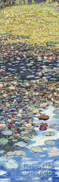 Painting - Lake Lenape Lilies by Patricia A Griffin