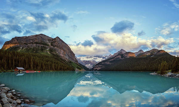 Photograph - Lake Louise Banff Alberta by Joan Carroll
