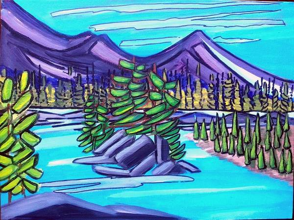 Painting - Lake Louise by Nikki Dalton