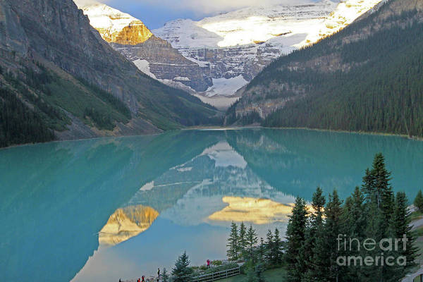 Photograph - Lake Louise Sunrise by Paula Guttilla