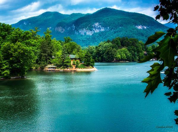 Photograph - Lake Lure, North Carolina by Claudia Abbott