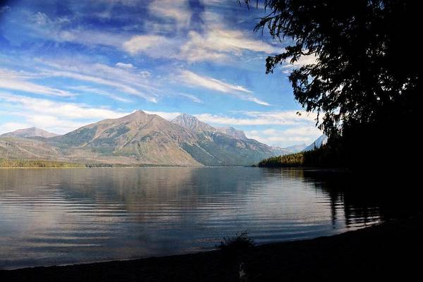 Photograph - Lake Mcdonald 20 by Marty Koch