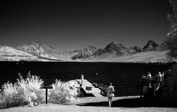 Photograph - Lake Mcdonald At Apgar by Lee Santa