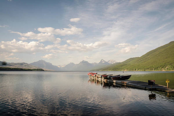 Photograph - Lake Mcdonald by Margaret Pitcher
