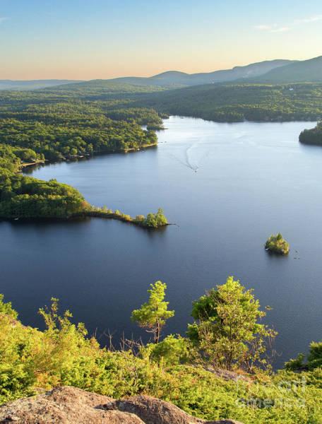 Photograph - Lake Megunticook, Camden, Maine  -43960-43962 by John Bald