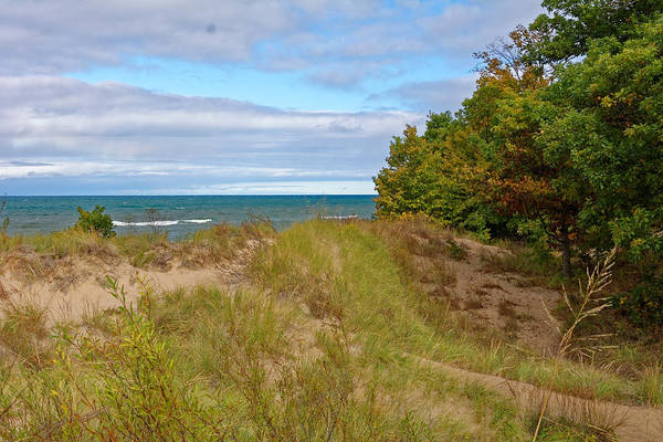 Lake Michigan Shore Art Print