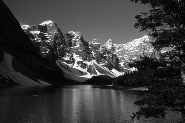 Photograph - Lake Moraine by David Matthews