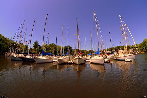 Wall Art - Photograph - Lake Murray S C Marina by Lisa Wooten