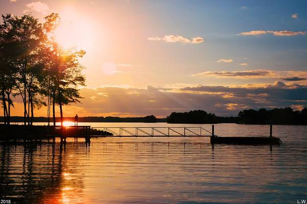 Photograph - Lake Murray Sc Paradise by Lisa Wooten