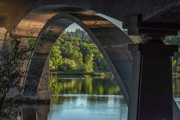 Lake Natoma Arch Art Print