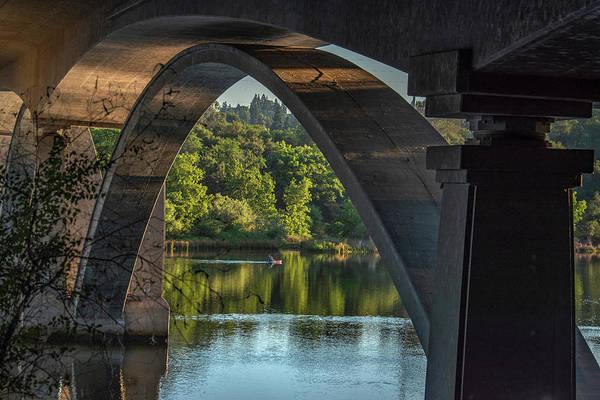 Photograph - Lake Natoma Arch by Jonathan Hansen